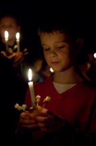 christingle older boy image